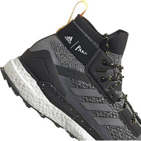 adidas TERREX Free Hiker Parley Hiking Shoes Men core black/crystal white/solar gold